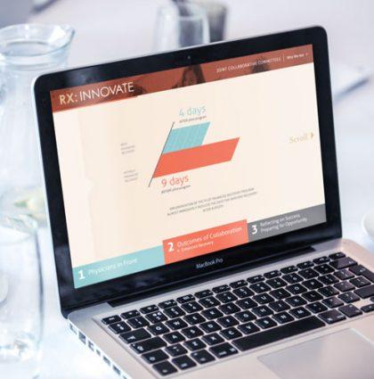 RX: Innovate Website